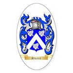 Swann Sticker (Oval 50 pk)