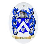 Swann Oval Ornament