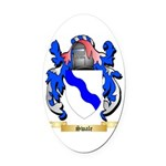 Swale Oval Car Magnet