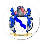 Swale Round Car Magnet