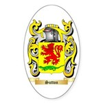 Sutton Sticker (Oval 50 pk)