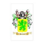 Sutton England Sticker (Rectangle)