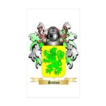 Sutton England Sticker (Rectangle 50 pk)