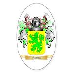 Sutton England Sticker (Oval)