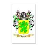 Sutton England 20x12 Wall Decal
