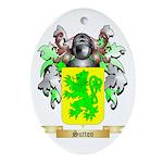 Sutton England Oval Ornament