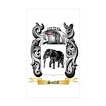 Sutliff Sticker (Rectangle 50 pk)