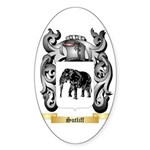 Sutliff Sticker (Oval 50 pk)