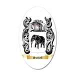 Sutlieff 20x12 Oval Wall Decal