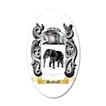 Sutlieff 35x21 Oval Wall Decal