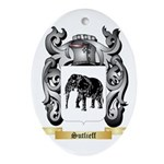 Sutlieff Oval Ornament