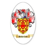 Sutherland Sticker (Oval 50 pk)