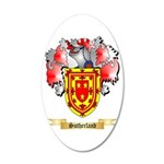 Sutherland 20x12 Oval Wall Decal