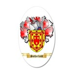 Sutherland 35x21 Oval Wall Decal