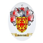 Sutherland Oval Ornament