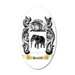 Sutcliff 35x21 Oval Wall Decal