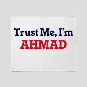 Trust Me, I'm Ahmad Throw Blanket