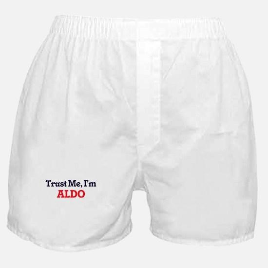 Trust Me, I'm Aldo Boxer Shorts
