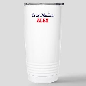 Trust Me, I'm Alex Stainless Steel Travel Mug