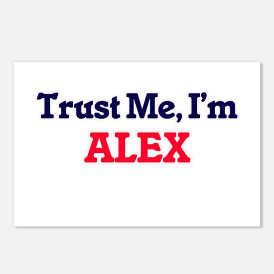 Trust Me, I'm Alex Postcards (Package of 8)