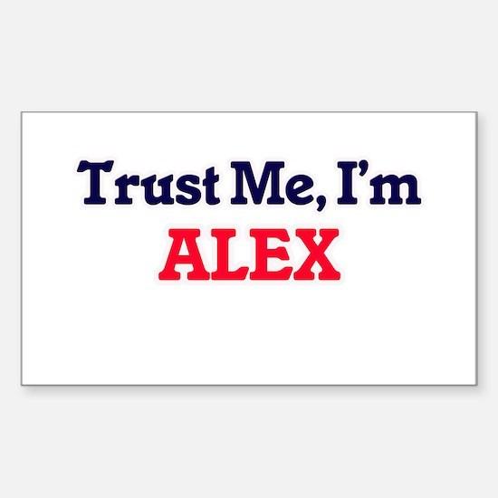 Trust Me, I'm Alex Decal