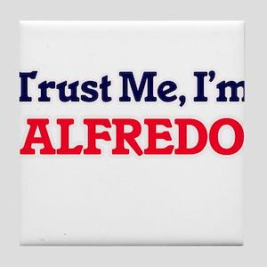 Trust Me, I'm Alfredo Tile Coaster