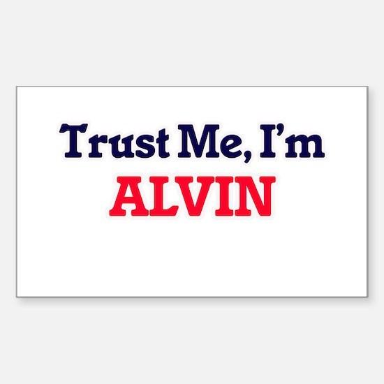 Trust Me, I'm Alvin Decal