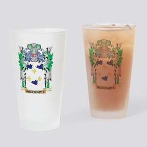 Mcdermott Coat of Arms - Family Cre Drinking Glass