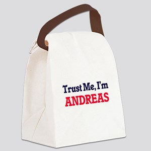 Trust Me, I'm Andreas Canvas Lunch Bag