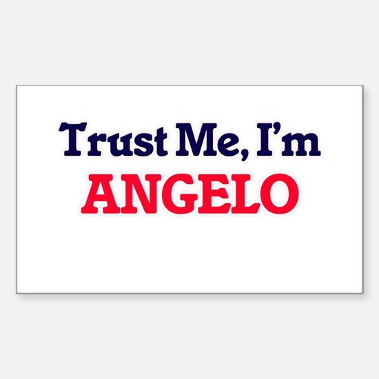 Trust Me, I'm Angelo Decal