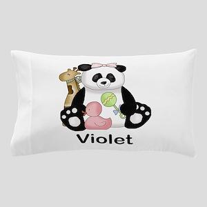 Zoey's Little Panda Pillow Case