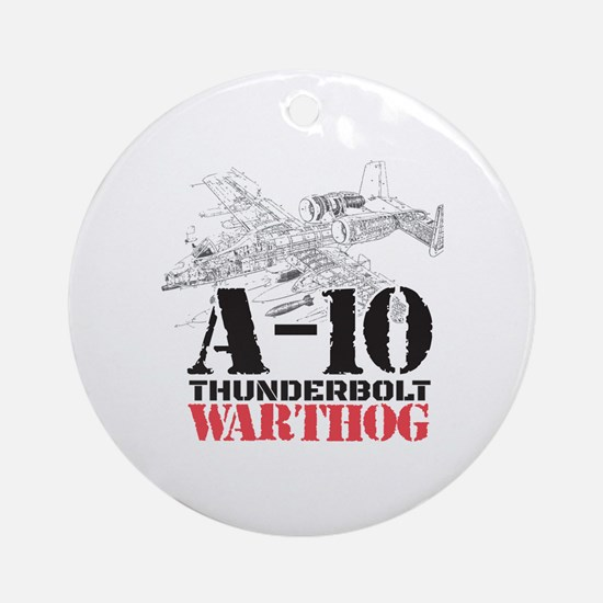 Cool Warthogs Round Ornament