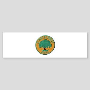 Paso Robles Police Bumper Sticker
