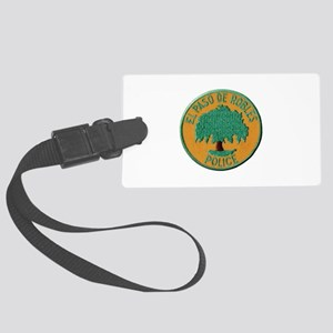 Paso Robles Police Luggage Tag