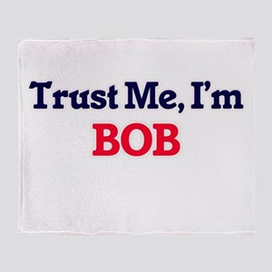 Trust Me, I'm Bob Throw Blanket