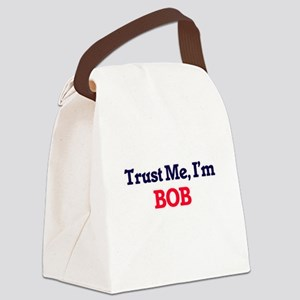 Trust Me, I'm Bob Canvas Lunch Bag