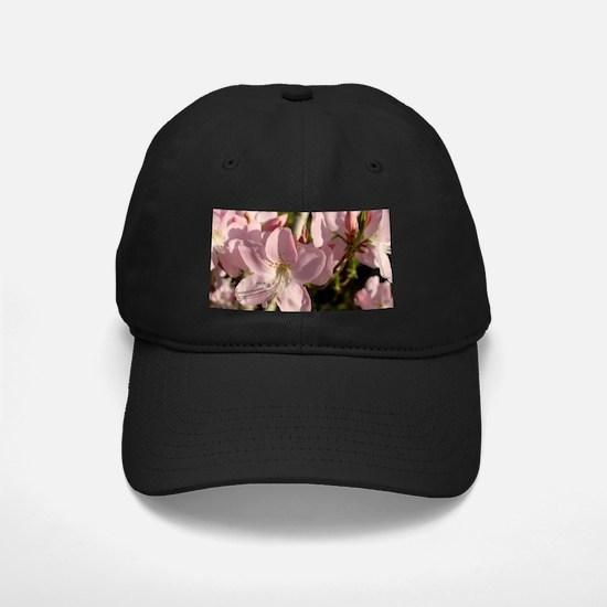 Pink Azaleas Baseball Hat