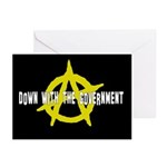 Anti-Gov't Greeting Cards (Pk of 20)