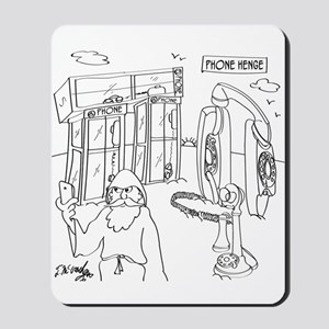 Phone Cartoon 9318 Mousepad