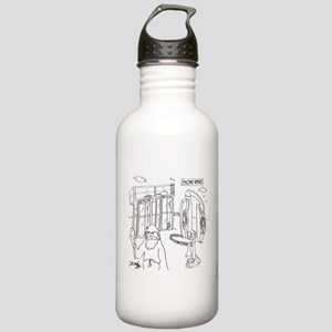 Phone Cartoon 9318 Stainless Water Bottle 1.0L