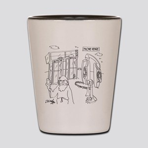 Phone Cartoon 9318 Shot Glass