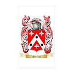 Surlis Sticker (Rectangle 50 pk)
