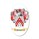 Sumpner 35x21 Oval Wall Decal