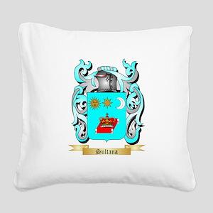 Sultana Square Canvas Pillow