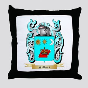 Sultana Throw Pillow