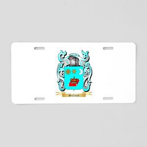 Sultana Aluminum License Plate