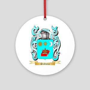 Sultana Round Ornament