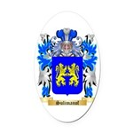 Sulimanof Oval Car Magnet