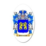 Sulimanof 35x21 Oval Wall Decal