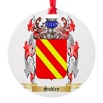 Sudley Round Ornament